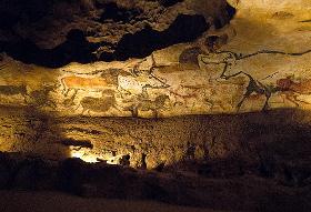 Peinture de la grotte lascaux